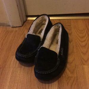 UGG black slippers women size 7